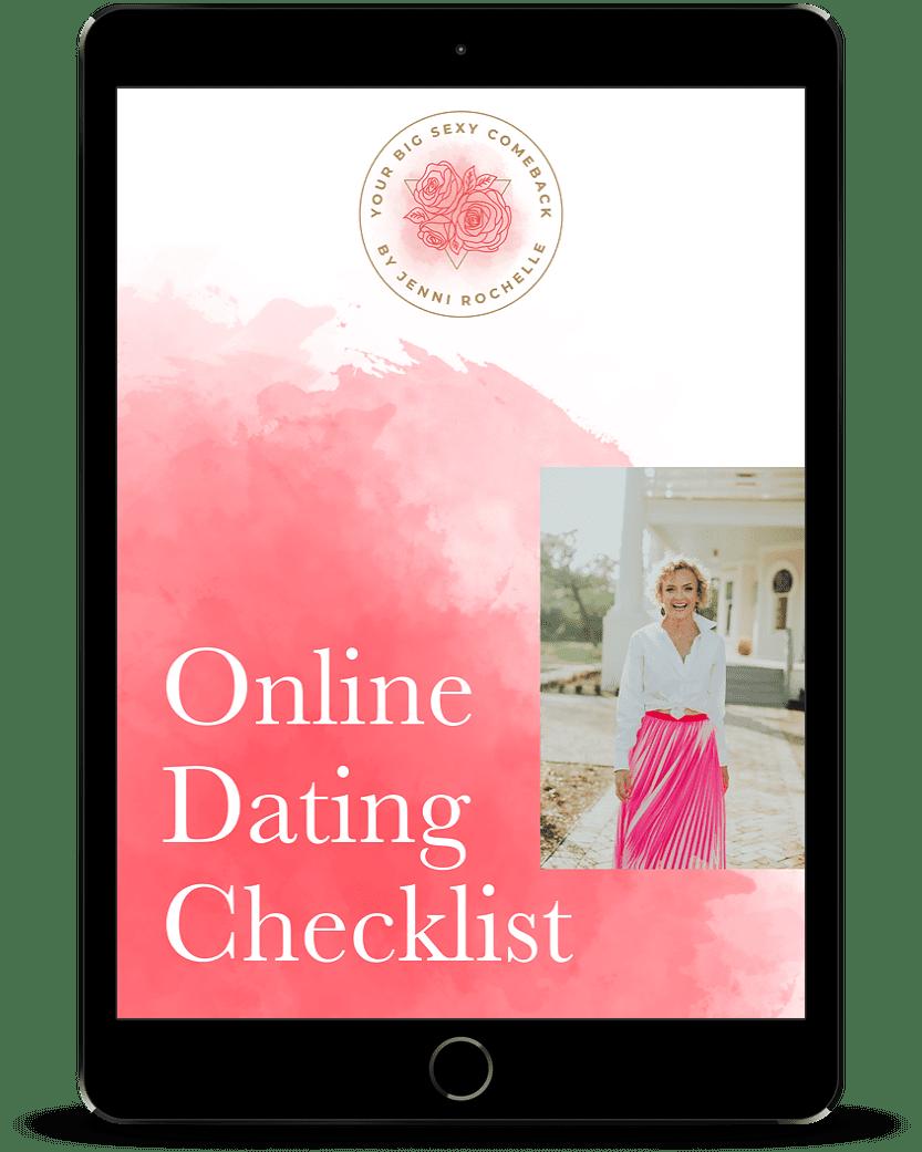Jenni's Online Dating Checklist